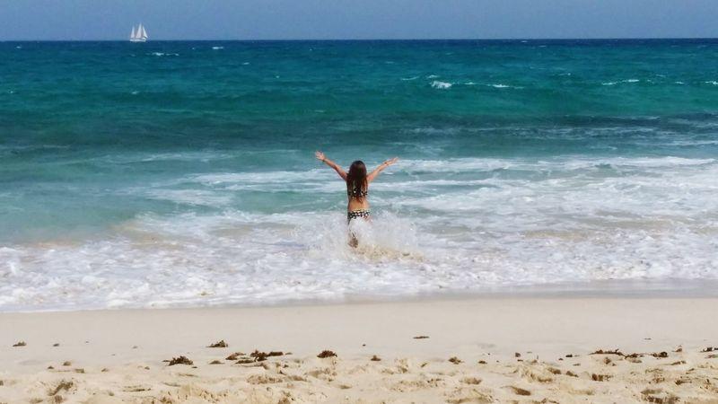 Blue WaveNature Beautifulinnature Naturalbeauty Photography Landscape Fuerteventura Ocean View Ocean Waves Ocean Photography Oceanview Children Playing On Beach Children Photography Sommergefühle