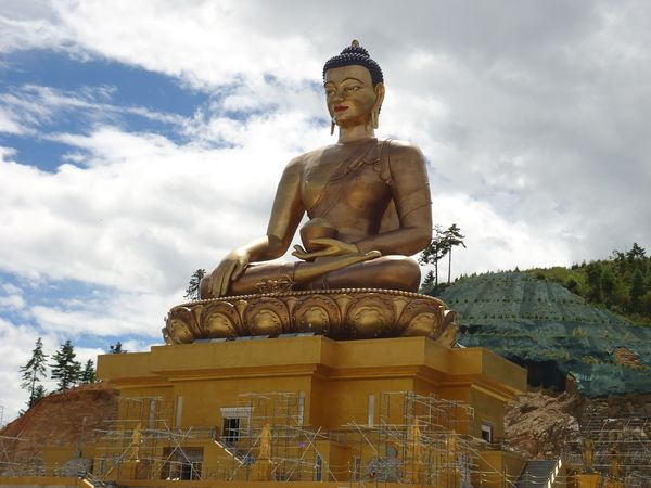 My clicks at buddhapoint at Thimphu Bhutan amazing governed with GNH...land of druk Dragon.being Bhutanese im always blessed. Proud to be...