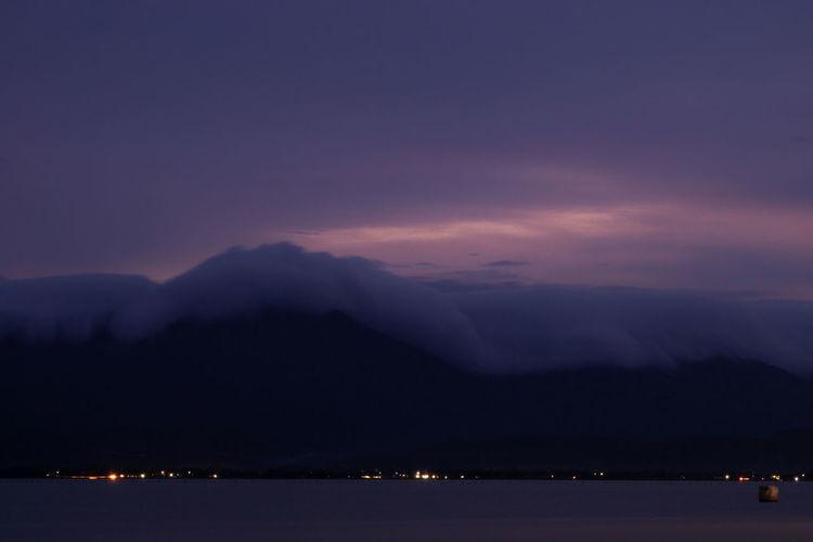 Twilight foggy