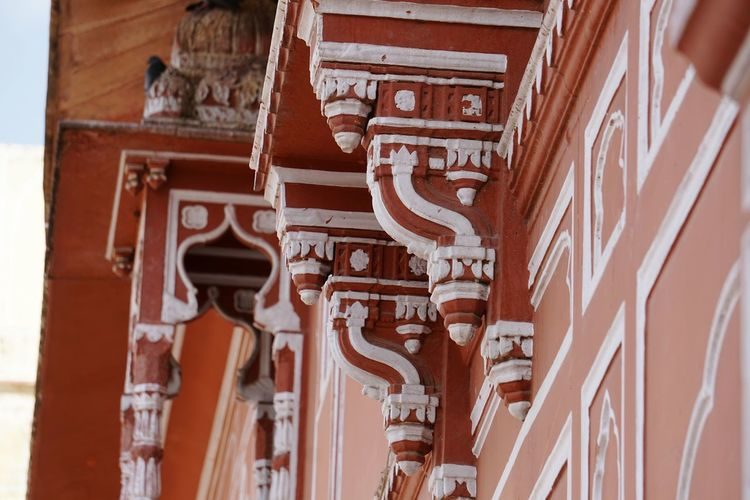 EyeEm Selects Travel Destinations Religion Architecture Built Structure Travel Ancient History Tourism Place Of Worship Building Exterior Ancient Civilization Outdoors Close-up Day Old Ruin Architecture Architectural Column Traditional Clothing Jaipur Tourist Place Getty Images Enjoy The Little Things Jaipur Rajasthan Enjoy The Moment Indoors