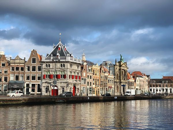 Building Exterior Architecture Built Structure Cloud - Sky Water Sky Building Waterfront City Nature River Travel Destinations No People The Past History Residential District Tourism Travel Day Outdoors Spire  Row House