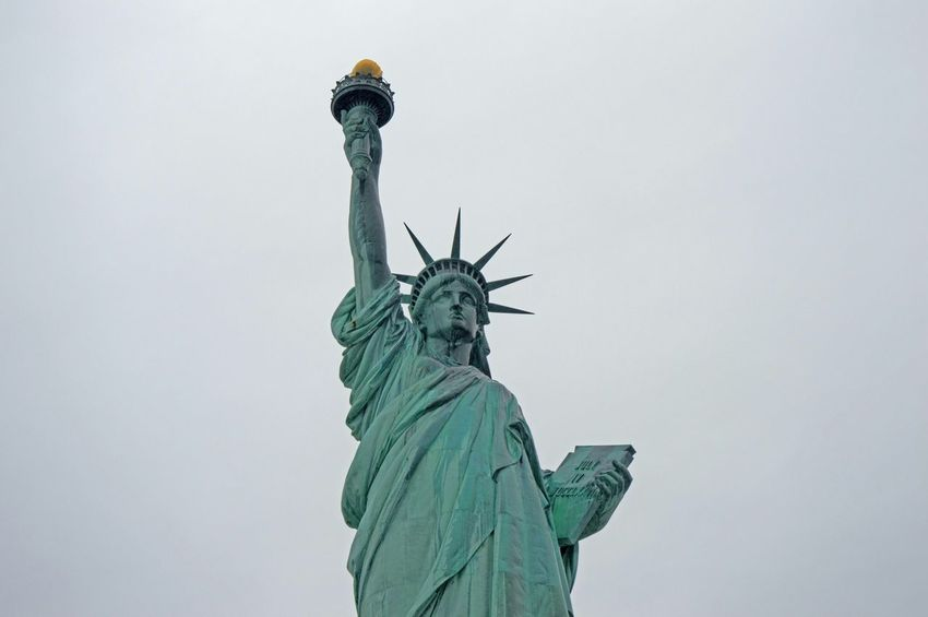 Statue Of Liberty New Jersey New York