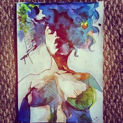 Myhobby Me Drawing Watercolor sakhalin