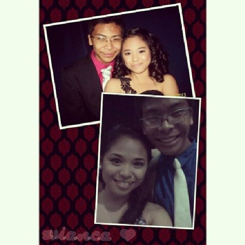 JS Prom 2013 and JS Prom 2014 :) Foreverpromdate Evianca