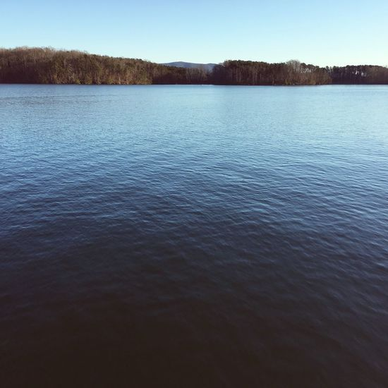 Calm Waters Water Nature Beauty In Nature Sky Tranquility Waterfront Lake No People Outdoors Tree Day Virginia Smith Mountain Lake Solitude Nature Outdoors
