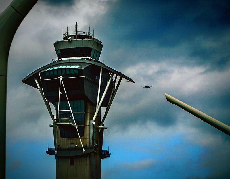 One of the air traffic towers at L.A.X. LAX Lax Airport Airport Airports Airportphotography Airport Clouds Airport Art Airplane Airlines Aircraft Departures Cloudy Day Cloudysky Cloudyweather Cloudy Skies Gloomy Weather Gloomyweather Gloomydays Sonya6000 SonyAlpha6000 Sonyalphaphotography A6000 Flight ✈ Flight Los Angeles, California