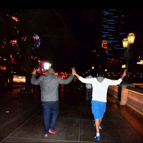 my friend & I. Summer 2012 . Las Vegas