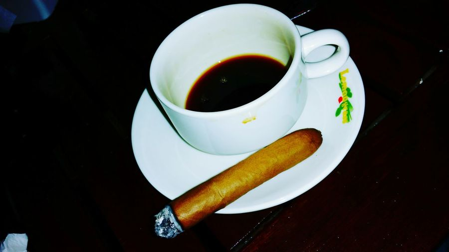 Coffee and ciggarettes.. man!! Thats a combination.. XD Cigarettes Coffee Weed Smoking Ciggar