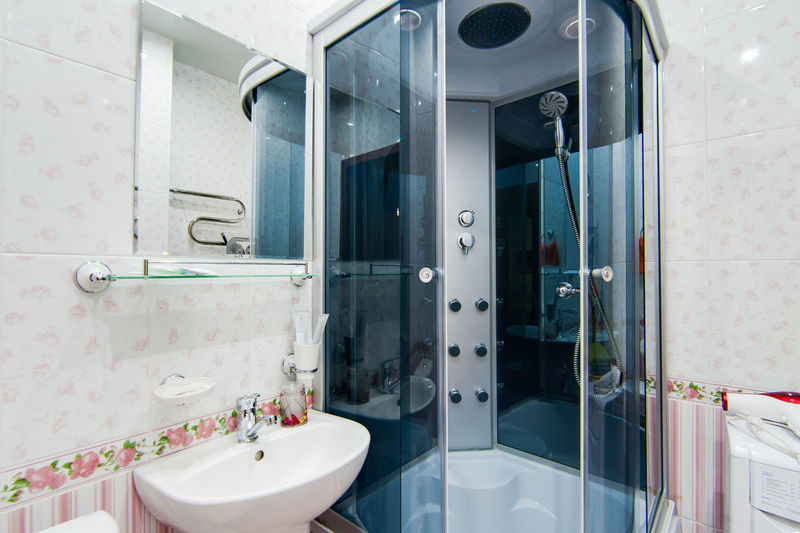 Bathroom Indoors  Domestic Bathroom Hygiene No People Healthcare And Medicine Domestic Room Mirror Equipment Healthy Lifestyle Absence Sink Home In A Row Day Technology Reflection Machinery Flooring Clean