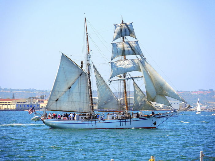 Harbor Sailing Ship Festival Of Sails Old Ships Sailing Vessels Scooners Sea Tall Mast Ship