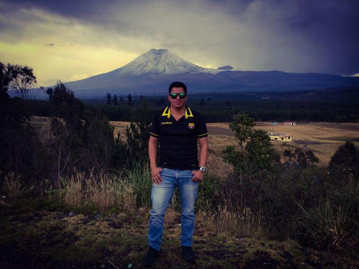 Cotopaxi Vulcano Ecuador♥ One Person Looking At Camera Nature