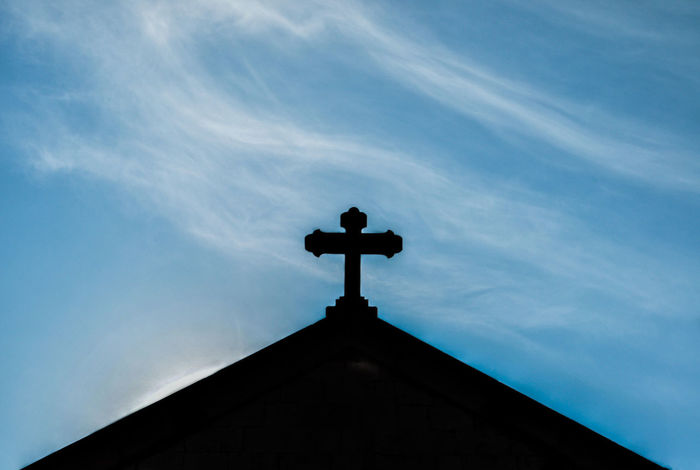 Architecture Belief Bell Tower Building Exterior Built Structure Christianity Church Cloud Cloud - Sky Croatia Cross Day Low Angle View No People Outdoors Place Of Worship Religion Sky Spirituality Temple