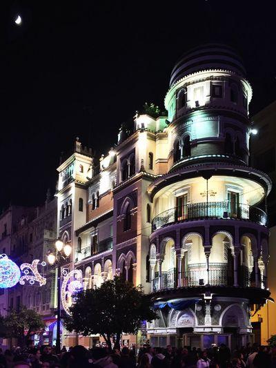 Sevilla Mobilephotography AMPt_community Youmobile Christmas Lights NEM Architecture Architecture EyeEm Best Edits EyeEm Best Shots
