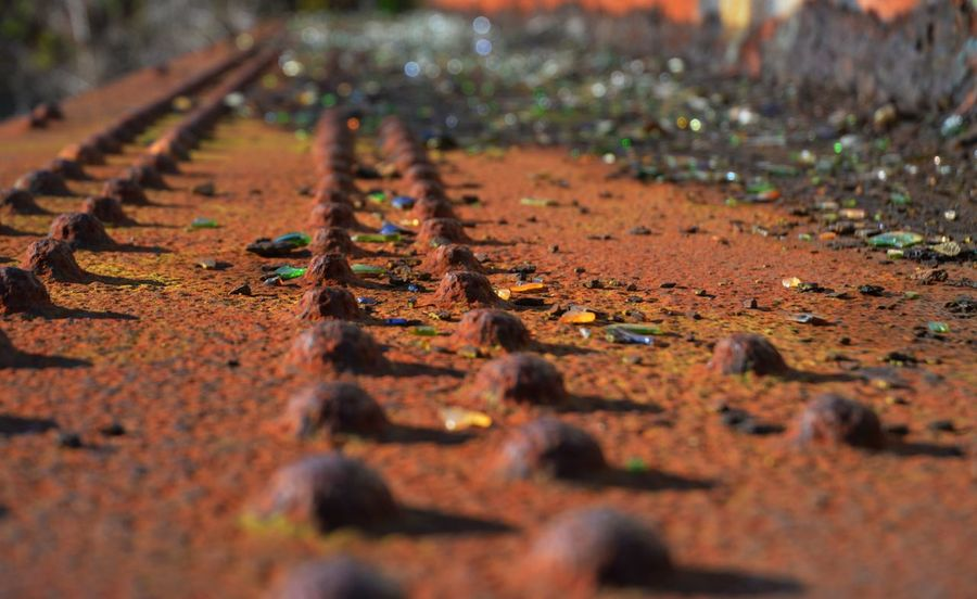 Old Engineering Boc Bokeh Glass Steel Rivets Girders Iron Rusting No People Outdoors Day Nature Close-up EyeEmNewHere