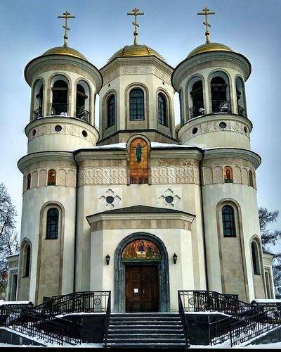 Russian Church Religion Façade Architecture History No People Day Sky Russian Beauty Russian Church