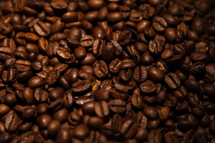 delicious fresh coffee beans Abundance Backgrounds Brown Caffeine Close-up Coffee Coffee - Drink Coffee Bean Delicious Drink Food Food And Drink Freshness Full Frame Indoors  Large Group Of Objects No People Refreshment Roasted Roasted Coffee Bean Still Life