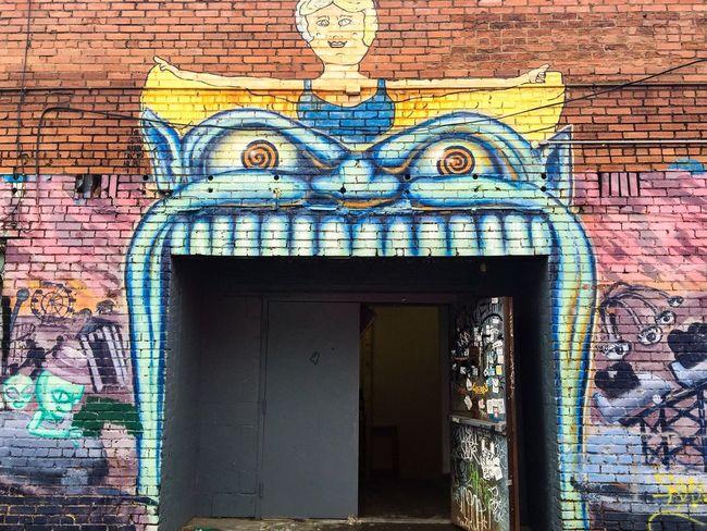 Street art in Deep Ellum. Art Street Art Deep Ellum Dallas Texas