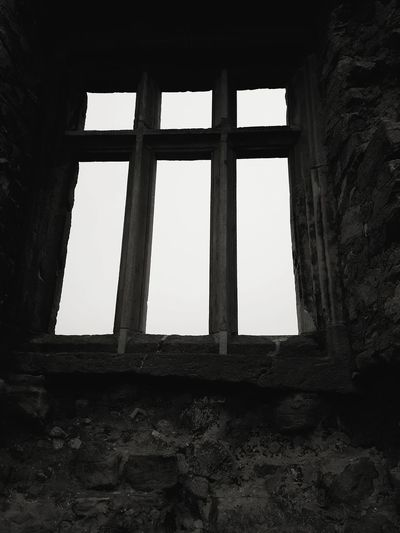 Blackandwhite Black & White Window Architecture Sky Built Structure Close-up Deterioration Old Ruin Historic Ruined Archaeology Weathered