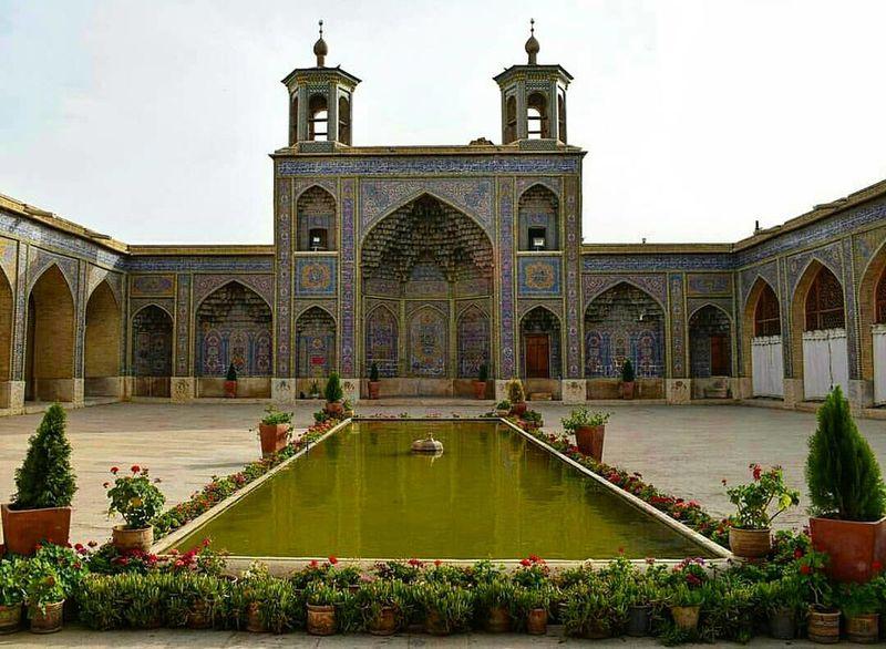Masque Nasir_al_molk_mosque Travel Iran Shiraz, Iran EyeEm Gallery EyeEm Best Shots Arch Architecture Sky