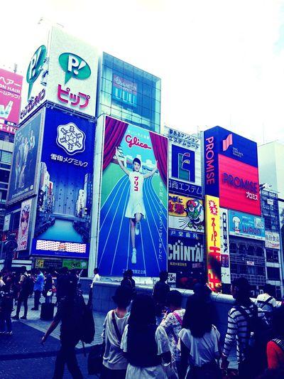 Japan Osaka,Japan Doutonbori Doutonboristreet