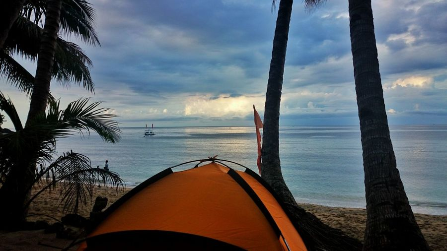 Kiamba Sarangani Landscape Beach Camping Camping By The Beach Seashore Seascape Blue Skies Nature Nature Photography Xperiatography Mindanao Tent Tuka Marine Sanctuary