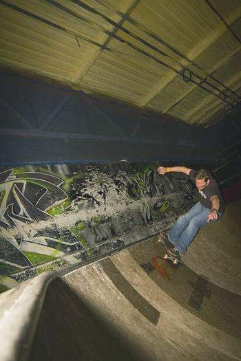 Frontside Bowl Skateboarding Me at Corby Adrenalinalley