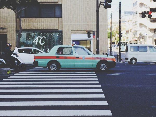 Pastel Power Travel Taxi Japen Okinawa 2015  Naha