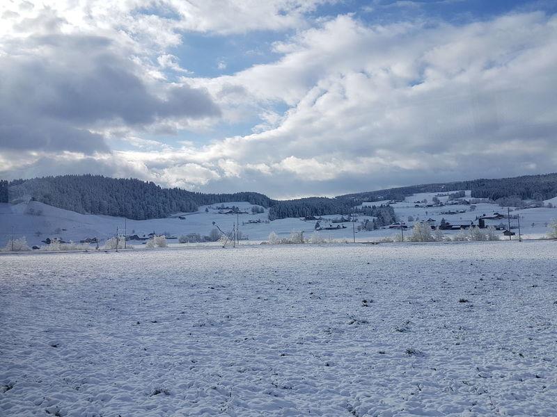 Frisch verschneit Landscape_Collection Landschaft Schnee Snow Schweiz Swiss