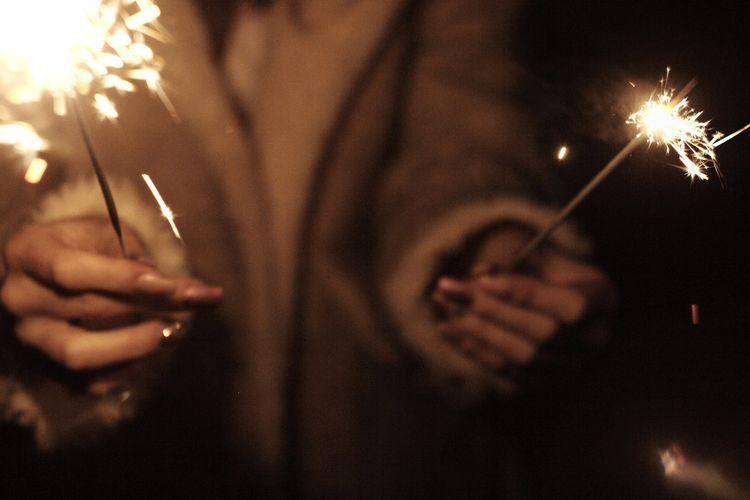 Happy New Year 🎆. Outdoors Taking Photos Shootermag The Week On EyeEm EyeEm Best Shots Happynewyear Light And Shadow 35mm 35mmfilmphotography Analog Analogue Photography Human Body Part Human Hand Adult Exploring Fun