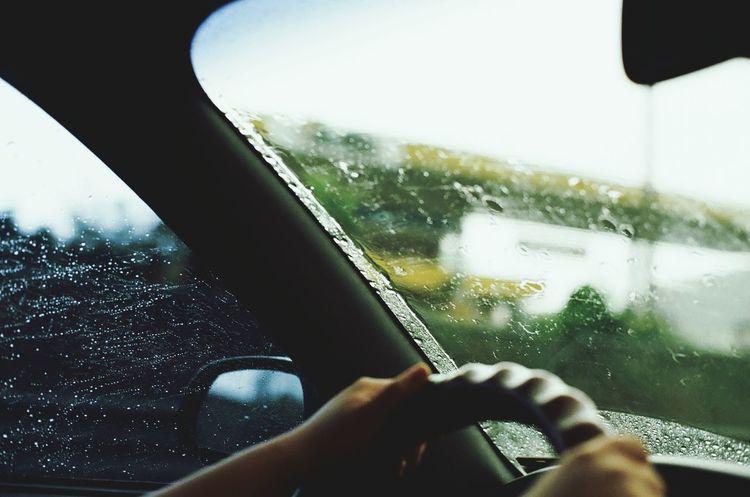 Driving In Raining🌧day Minolta Alpha9000