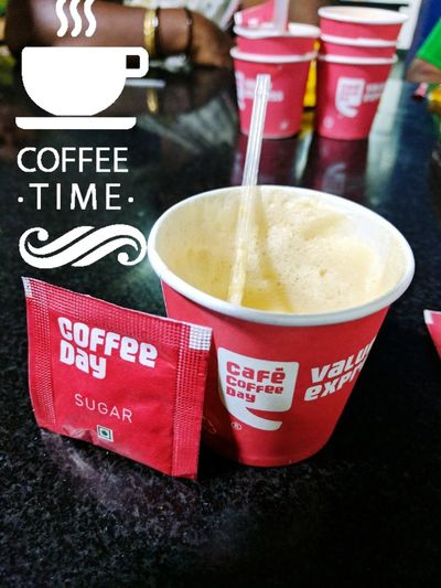 MidNight Hot Coffee On A Cold Winters Night Cafe Coffee Day 12:28am Mystoryof23 Missing You Like Crazy Phatudumbo Cappuccino Drink Refreshment