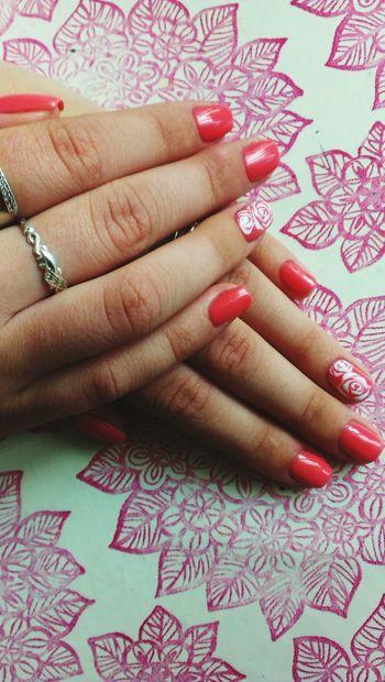 Nailart  Flower Pinknails