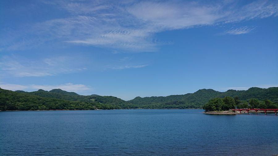 赤城山 大沼 Tree Water Summer Sky Architecture Cloud - Sky