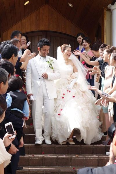 My sister in law's wedding. Happy day. Okinawa Love Marriage  Smiles