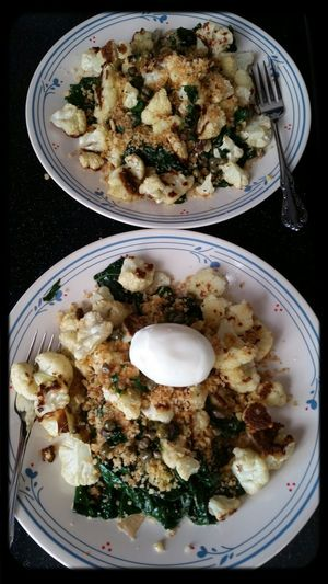 Cauliflower and kale New Recipe Yummy!
