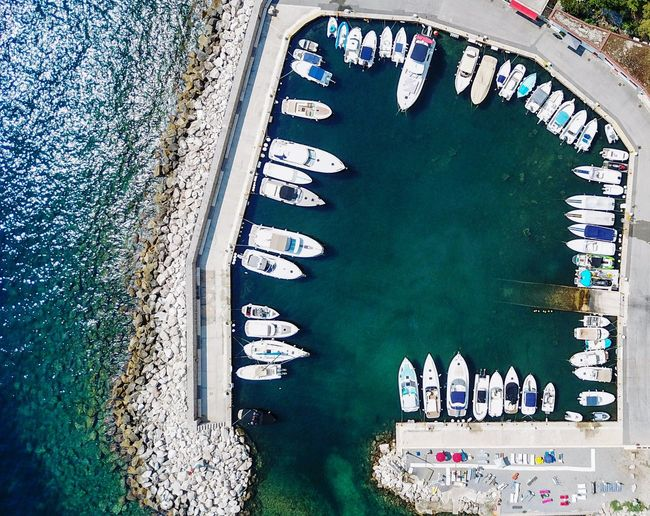 Aerial Shot Dronephotography Drone Photography Landscapes Boating Sea Seascape Life Is A Beach Summer Holiday France Landscape Traveling Eye4photography  EyeEm Best Shots Drone  Dji DJI Mavic Pro Aerial View Droneshot Drones Boats Harbor EyeEm Gallery Close-up Boat Nautical Vessel Sailing Boat Port Water Vehicle