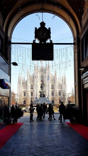 Duomo Di Milano Duomo Milano Architecture Love Happiness Tree City Lifestyles