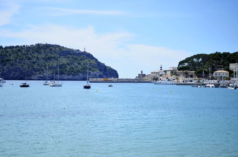 Port de Soller Water Nautical Vessel Sailing Ship Yacht Sea Tree Beach Mountain Yachting Harbor Bay Of Water Sailing Island Sailing Boat Marina Boat
