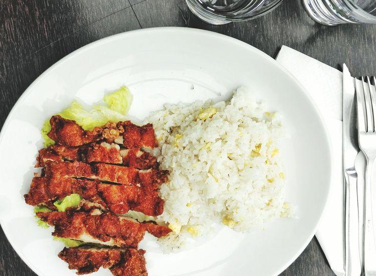 Food Lunch Fast Food Rice Chicken Chicken Steak Asianfood