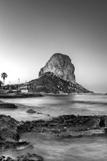 Calp morning Calp Travel Blackandwhite SPAIN Eye4photography  Photography Eyeemphoto Monochrome Photography