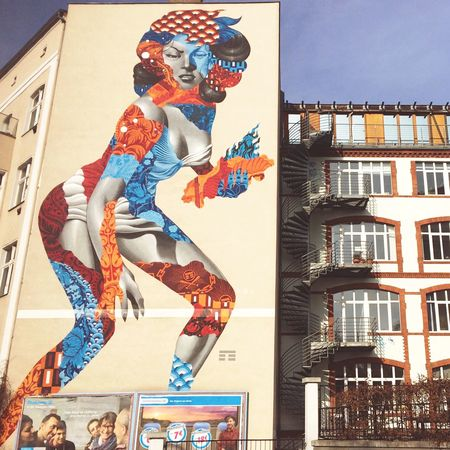 Some cool street art around Friedrichshain, Berlin. Berlin Street Streetphotography City Building Art Creative