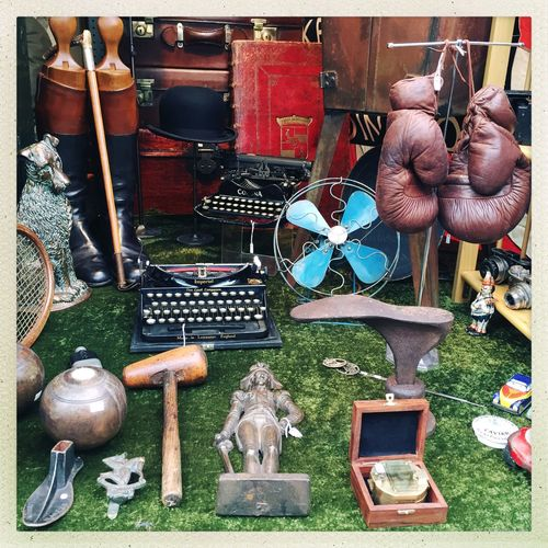 Variety of objects for sale
