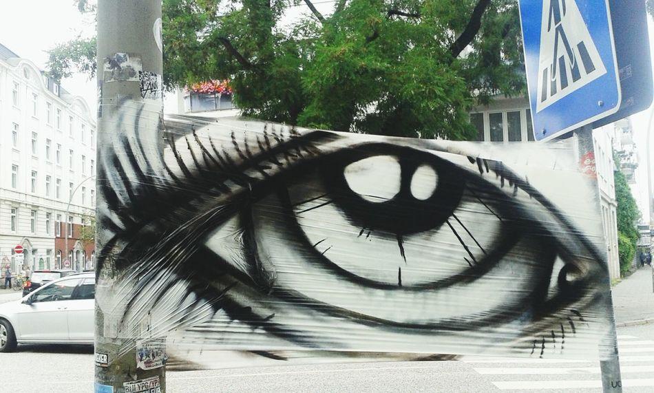 Hamburg Street Photography Art, Drawing, Creativity Look Up What Do You See? Das ist das Gegenstück bzw die Rückseite