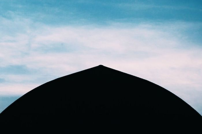 Low Angle View Silhouette Architecture Sky Built Structure Dusk Building Exterior Cloud - Sky High Section Outdoors Geometric Shape Majestic Contrast Design Figure Shape No People Tranquility Modern