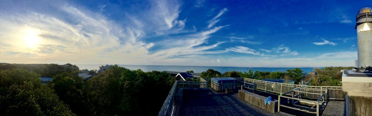 Fire Island Fire Island NY Architecture Built Structure Cloud - Sky Day Demendozaphotography Fire Island Pines Horizon Over Water IPhone New York State No People Outdoors Sea Sky Sunset Tree Water