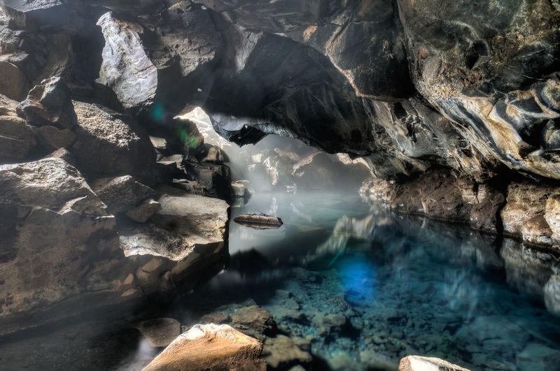 Stream in cave