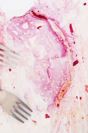 Beautiful in pink... Beetroot juice left on plate. Salad leftovers and forks. Beautiful Beauty In Nature Beetroot Juice Close-up Food Food Leftovers Food Texture Food Porn Oil Outdoors Pink Color Still Life Texures Fork Beetroot Salad Dressing Pink Juice Eaten Texture Zero Waste NO WASTE No Waste The Food !!! No Leftovers