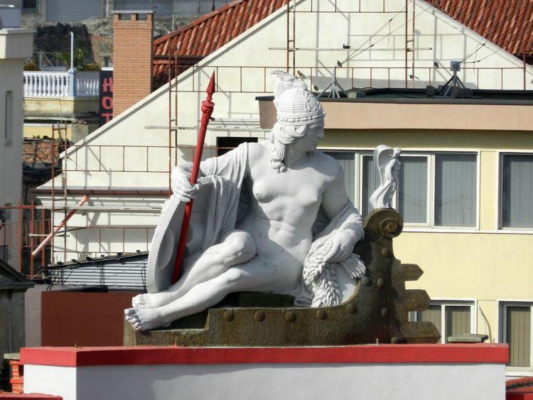 Architecture Art Building Built Structure Creativity Durres Albania Sculpture