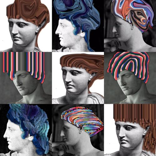 Photographic Approximation Classic Hairdos HypnoCulture Resist Capitalism