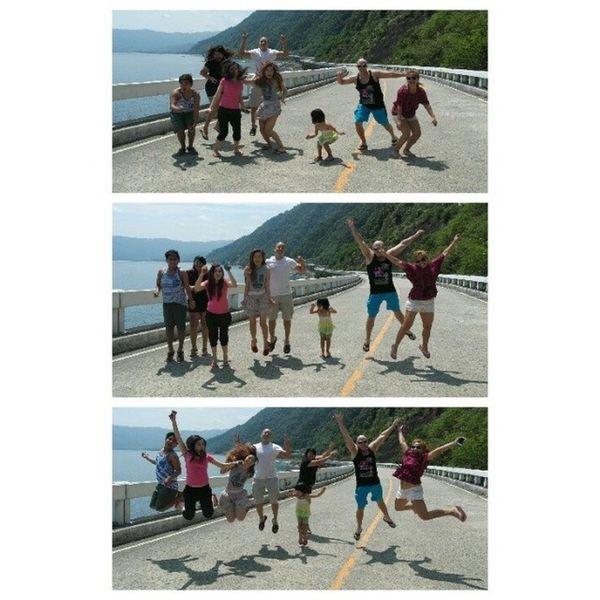 1, 2, 3.. jump! Family Jumpshots Bridge Summer NoFilter IlocosNorte